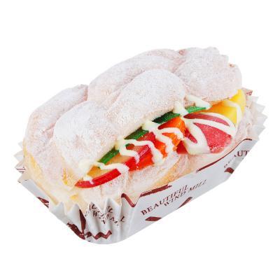 884-467 Магнит на холодильник в виде сэндвича, PU, 10,5х7х5см