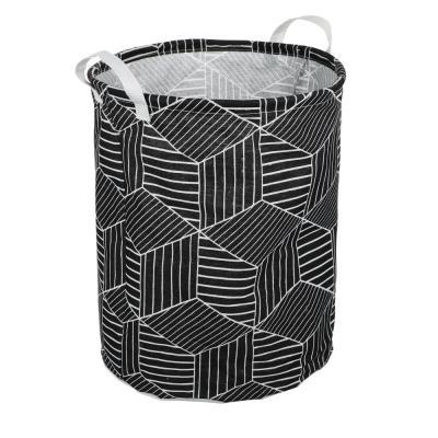 457-442 VETTA Корзина для белья текстильная, 70% хлопок, 30% полиэстер, 40 х 50см 4 дизайна