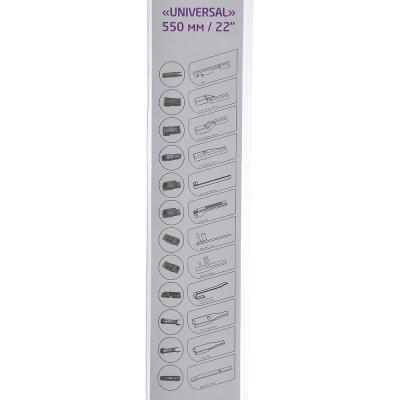 748-010 NEW GALAXY Щетка стеклоочистителя бескаркасная UNIVERSAL 550мм/22'', 10 адаптеров