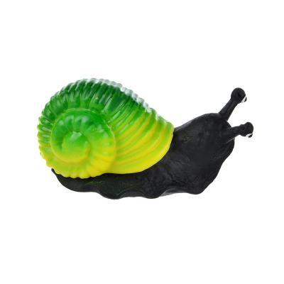 274-134 Игрушка в виде улитки с панцирем, пластик, резина, 6-8см, 2-4 цвета