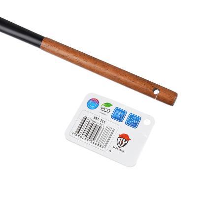 881-211 Шумовка VETTA Виста, нейлон, ручка нерж.сталь, дерево