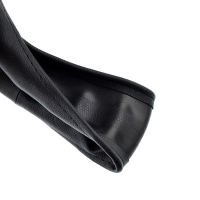 708-111 NEW GALAXY Оплетка руля, натуральная кожа, цвет черный, размер L