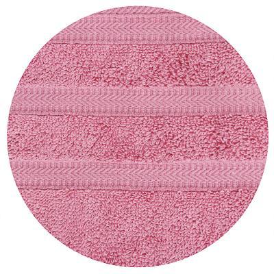 """484-906 Полотенце махровое PROVANCE """"Виана"""" 70х130см, 100% хлопок, пыльная роза"""