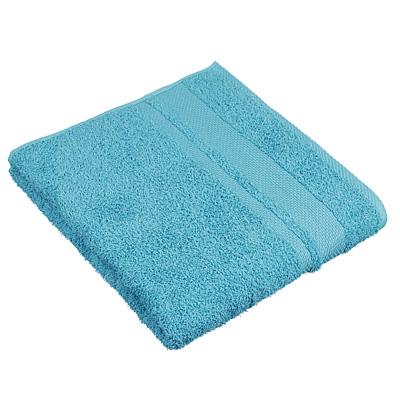"484-914 Полотенце махровое PROVANCE ""Грейс"" 70х130см, 100% хлопок, голубой"