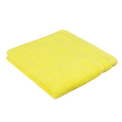 "489-186 Полотенце махровое PROVANCE ""Виана"" 50х90см, 100% хлопок, желтый"