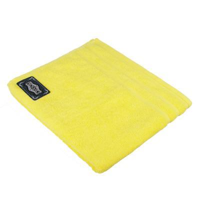 "484-919 Полотенце махровое PROVANCE ""Виана"" 70х130см, 100% хлопок, желтый"