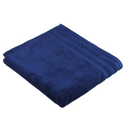 """484-922 Полотенце махровое PROVANCE """"Виана"""" 70х130см, 100% хлопок, глубокий синий"""