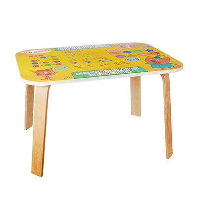 """275-047 Мебель детская """"Три кота"""" стол, дерево, 73х52х8см"""