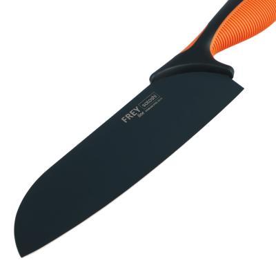 803-293 SATOSHI Фрей Нож кухонный сантоку 17см, нерж.сталь с антиналипающим покрытием