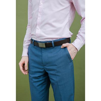 311-384 PAVO Ремень мужской с закрытой пряжкой, ПУ, сплав, 120/130х2,8см, 2 дизайна, 2 цвета