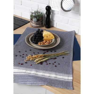 "434-068 Кухонное полотенце вафельное PROVANCE 100% хлопок, 40х60см, 260гр/м, ""Завтрак"", 3 цвета"