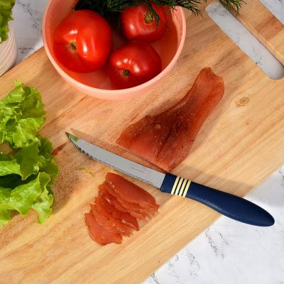 "871-509 Tramontina Cor&Cor Нож для мяса 5"" 23466/235 (цена за 2 шт.)"