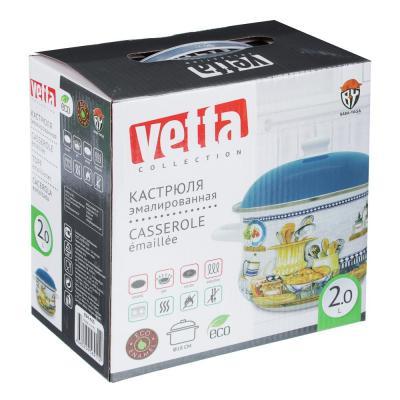 894-463 Кастрюля 2,0 л VETTA Хлеб, эмалированная, индукция