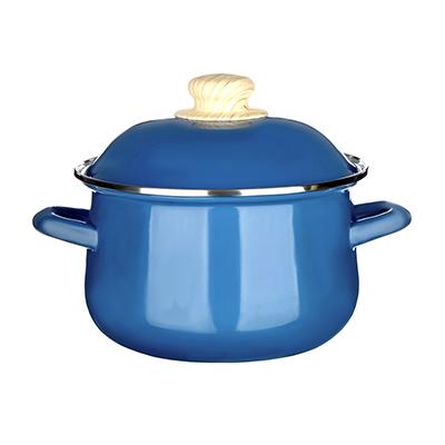 894-467 Кастрюля 2,0 л VETTA Глянец, эмалированная, синий