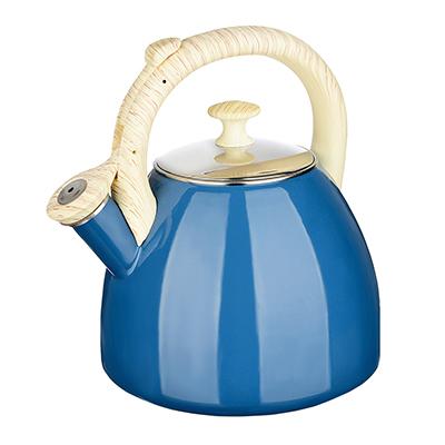 894-470 Чайник 2,5 л VETTA Глянец, эмалированный, синий, индукция