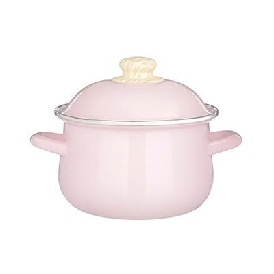 894-471 Кастрюля 2,0 лVETTA Глянец, эмалированная, розовый