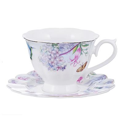 802-051 Чайный сервиз 12 предметов MILLIMI Арлетт 220мл, костяной фарфор