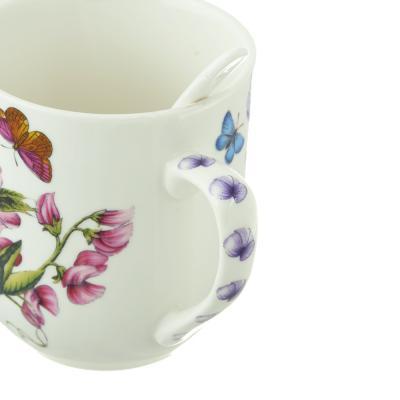 802-234 Чайный сервиз MILLIMI Камила (кружка, ситечко, ложка, крышка), костяной фарфор