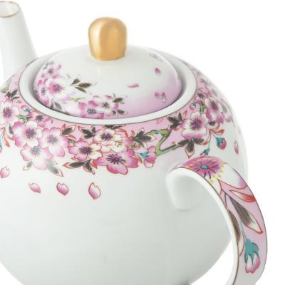 802-253 Чайник заварочный Сакура 1000 мл, фарфор