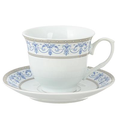 802-258 Чайный сервиз Сальса 12 пр., 220мл, фарфо