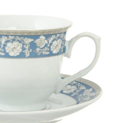 802-265 Чайный сервиз 12 предметов Савойя 220мл, фарфор