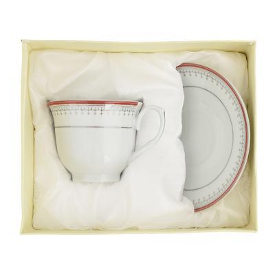 802-270 Чайный сервиз 2 предмета Стелла 220мл, фарфор