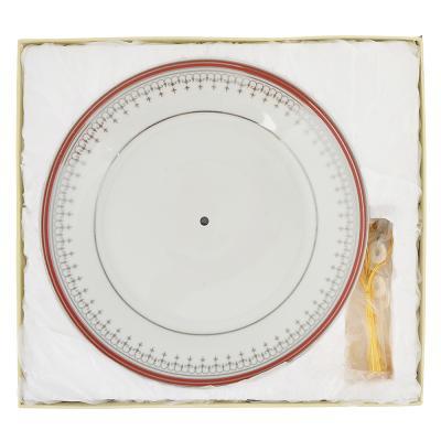 802-274 Ваза для фруктов двухъярусная Стелла d=20см, d=23см, высота 23,5см, фарфор