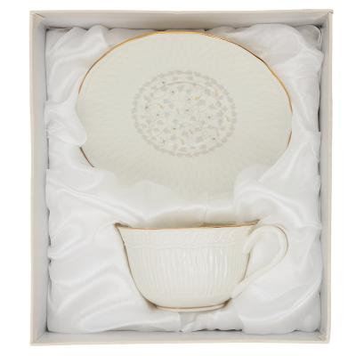 802-279 Чайный сервиз 2 предмета MILLIMI Вивьен 250мл, костяной фарфор