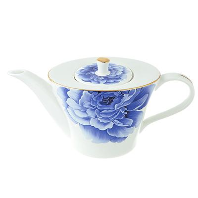 802-289 Чайник заварочный MILLIMI Виолета 650мл, костяной фарфор