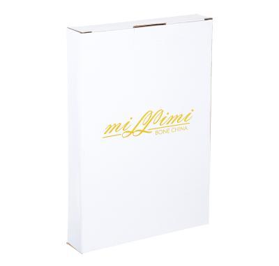 802-301 Блюдо MILLIMI Вуаль 25,5х17х3,5см, костяной фарфор