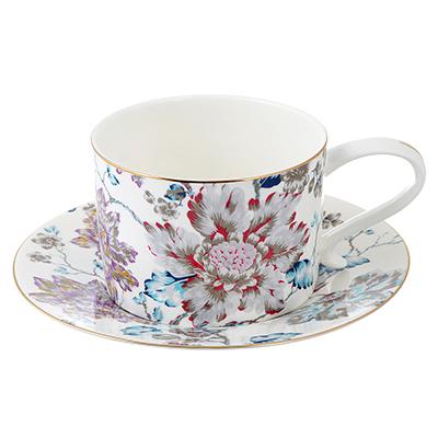 802-305 Чайный сервиз 4 предмета MILLIMI Вивальди 270мл, костяной фарфор