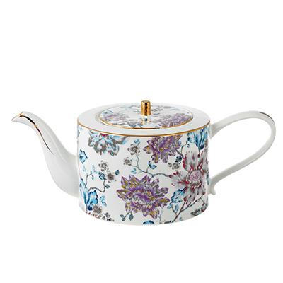 802-307 Чайник заварочный MILLIMI Вивальди 1150мл, костяной фарфор