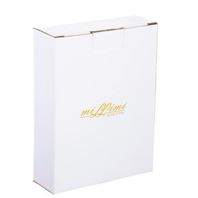 802-309 Салатник овальный MILLIMI Вивальди 16,5х12,5х4,5см, костяной фарфор