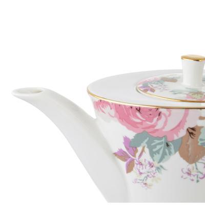802-322 Чайник заварочный MILLIMI Верона 650мл, костяной фарфор
