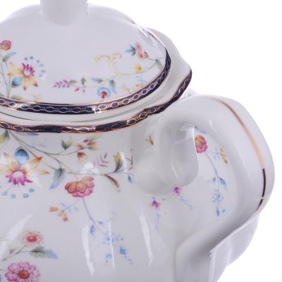 821-036 MILLIMI Маркиза Чайник заварочный, 1100мл, костяной фарфор