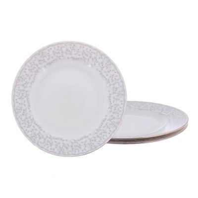 821-099 MILLIMI Тайна Набор тарелок 3пр., 24см, костяной фарфор