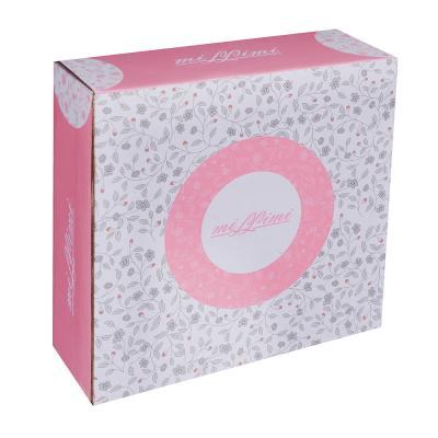 821-106 MILLIMI Тайна Ваза для конфет 18,5x5,5см, костяной фарфор
