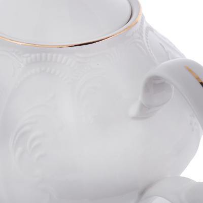 821-120 MILLIMI Менуэт Чайник заварочный, 1000 мл, костяной фарфор