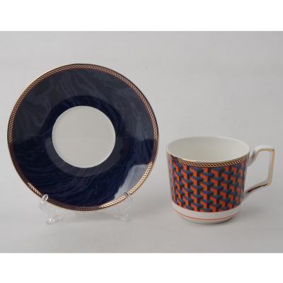 802-326 Чайный сервиз 12 предметов MILLIMI Элегия 260мл, костяной фарфор
