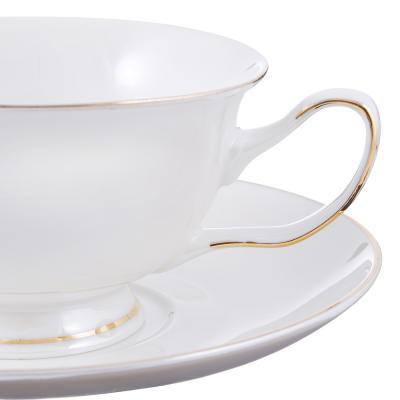 802-334 Чайный сервиз 4 предмета MILLIMI Перламутр 220мл, костяной фарфор
