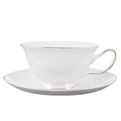 802-335 Чайный сервиз 12 предметов MILLIMI Перламутр 220мл, костяной фарфор