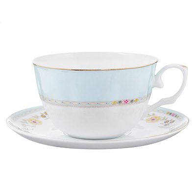 802-346 Чайный сервиз 4 предмета MILLIMI Марсела 250мл, тонкий фарфор