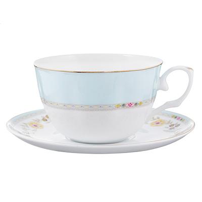 802-347 Чайный сервиз 12 предметов MILLIMI Марсела 250мл, тонкий фарфор