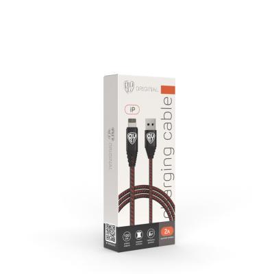 443-009 Кабель для зарядки FORZA iP, 2A, 1м, премиум, пластик