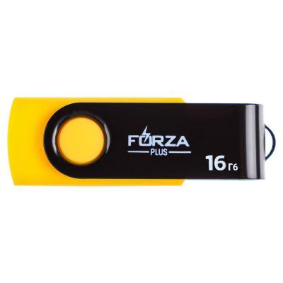 405-015 Флеш-карта, 16гб, 6 класс, матовое покрытие, блистер, пластик, FORZA