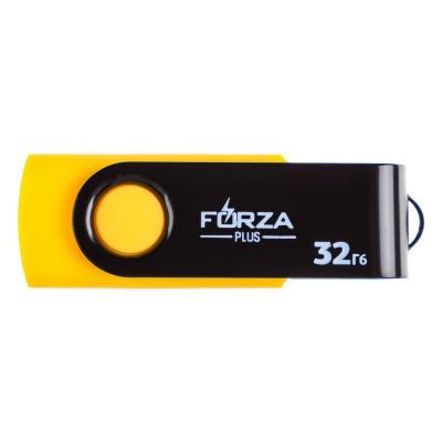 405-016 Флеш-карта, 32гб, 6 класс, матовое покрытие, блистер, пластик, FORZA