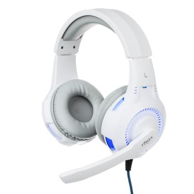 443-031 FORZA Наушники накладные игровые, динамик 40мм, кабель 175см, пластик, металл