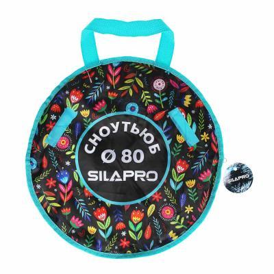 112-040 SILAPRO Сноутьюб с сиденьем, d=80см, оксфорд 600D, резина R14, ПВХ