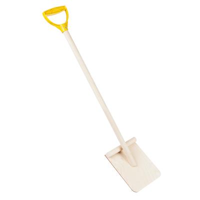 078-004 Лопатка деревянная с пластиковой ручкой, 75 см