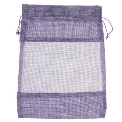 207-029 Мешок подарочный, ткань, полиэстер, 23х30 см, 5 цветов